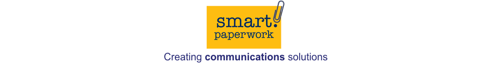 Smart Paperwork logo - Freelance communications consultant